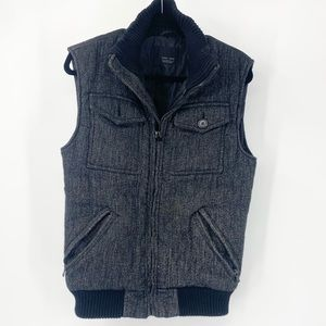 Zara Man Cargo zip up Vest
